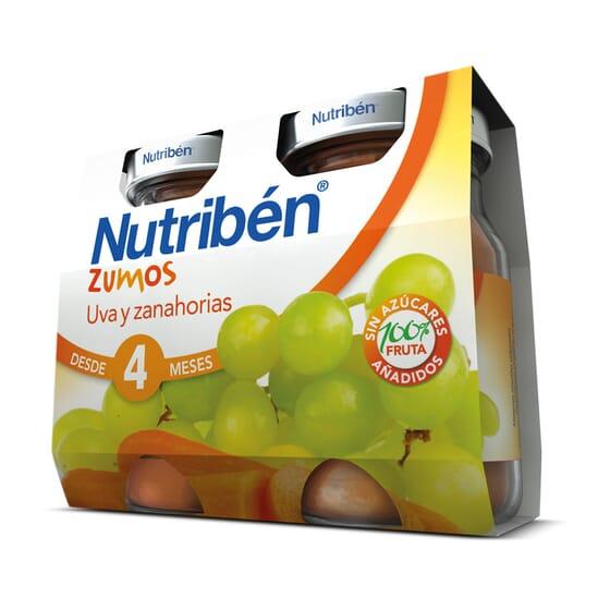 Sumos Uva Cenoura 2 x 130 ml da Nutribén