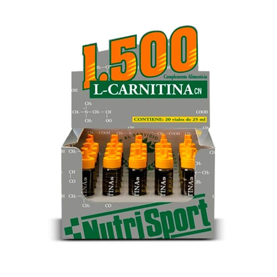 L-Carnitina 1500 20 x 25ml de Nutrisport