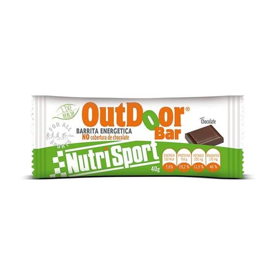 OUTDOOR BAR 20 Barres de 40 g de Nutrisport