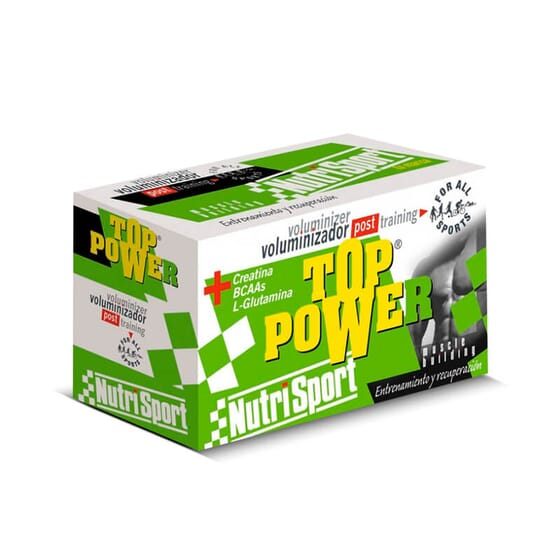 TOP POWER 24 Sachets de 60 g - NUTRISPORT
