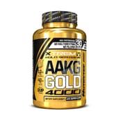 AAKG GOLD 4000 (Xtrem Gold Series) 120 Caps - NUTRYTEC