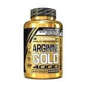 ARGININE GOLD 4000 (Xtrem Gold Series) 120 Caps - NUTRYTEC