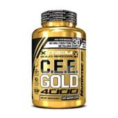 C.E.E. GOLD 4000 (Xtrem Gold Series) 120 Caps - NUTRYTEC