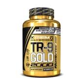 TR-9 GOLD 2000 (Xtrem Gold Series) 120 Caps - NUTRYTEC
