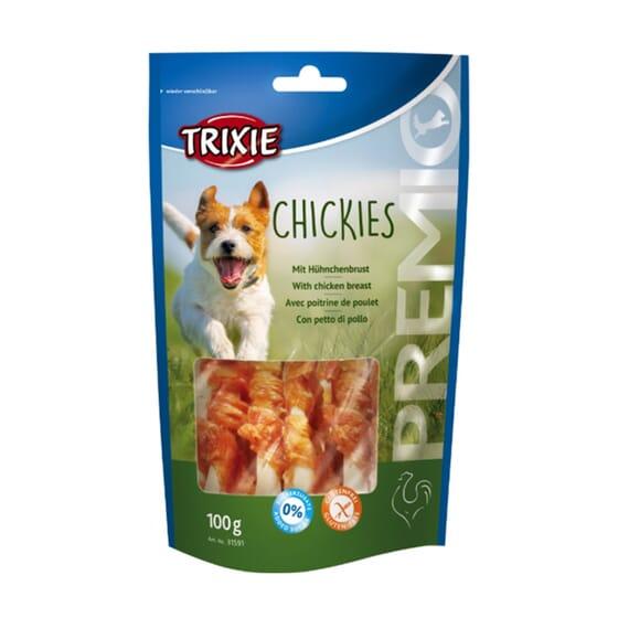 Premio Chickies Com Peito De Frango 100g da Trixie