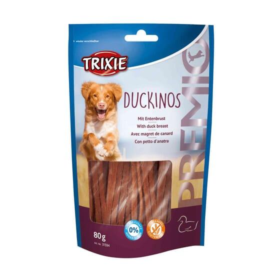 Premio Duckinos Com Peito de Pato 80g da Trixie