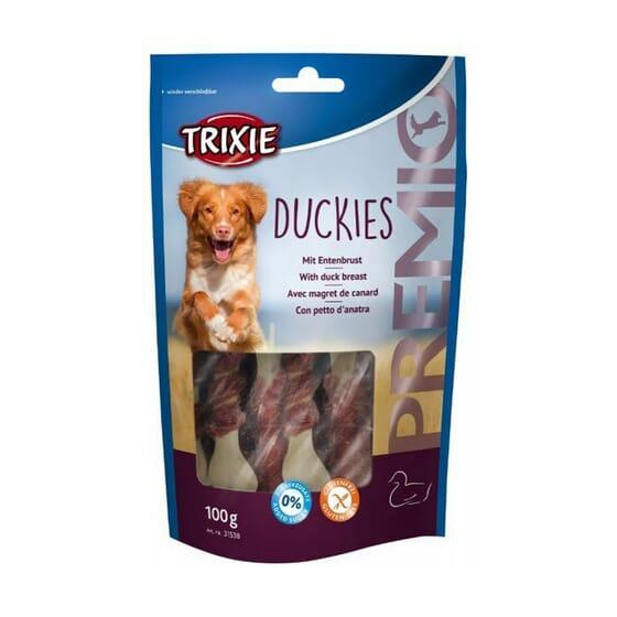 Premio Duckies Com Peito de Pato 100g da Trixie