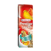 Prestige Sticks Para Canários com Fruta Tropical 2 x 30g da Versele Laga