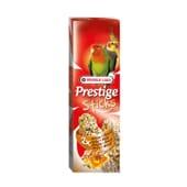Prestige Sticks Para Agapornis Ninfas Nozes e Mel 2 x 30g da Versele Laga