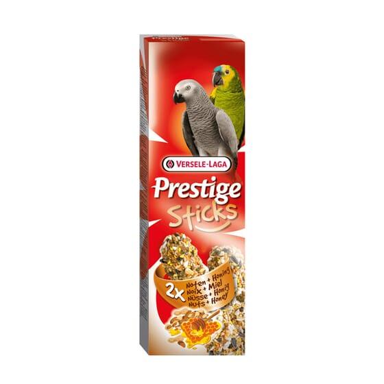Prestige Sticks Papagaios Nozes e Mel 2 x 30g da Versele Laga