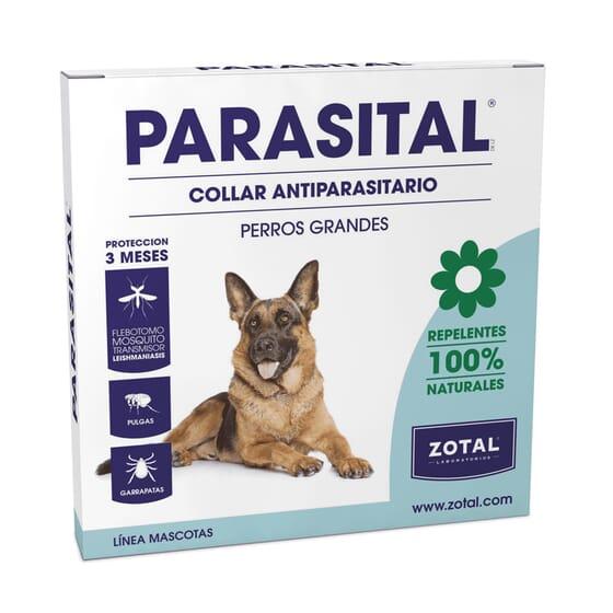 Parasital Coleira Repelente Cães Grandes da Zotal