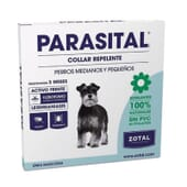 Parasital Coleira Repelente Cães Médios e Pequenos da Zotal