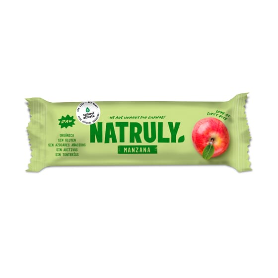 NATURAL BAR DE MANZANA 40g de Natural Athlete