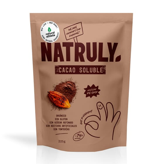 Natural Cacao Solubile 225g di Natural Athlete