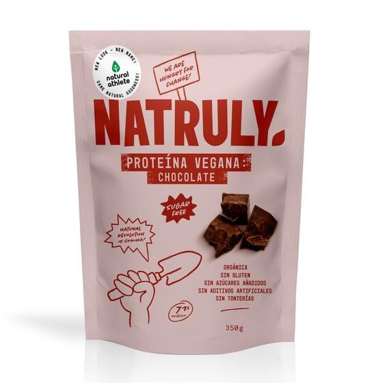 NATURAL PROTEÍNA VEGANA CHOCOLATE 350g de Natural Athlete