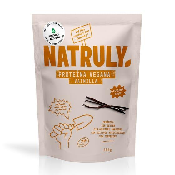 NATURAL PROTEÍNA VEGANA BAUNILHA 350g da Natural Athlete