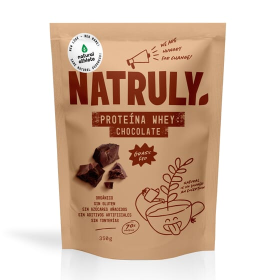 Natural Proteina Whey Cioccolato 750g di Natural Athlete