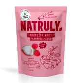 NATURAL PROTEÍNA WHEY FRAMBUESA Y COCO 350g de Natural Athlete