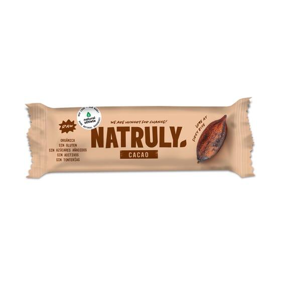 NATURAL BAR CACAU 24 Barras de 40g da Natural Athlete