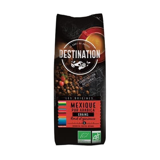 Café Puro Arábica Em Grão México Bio 250g da Destination