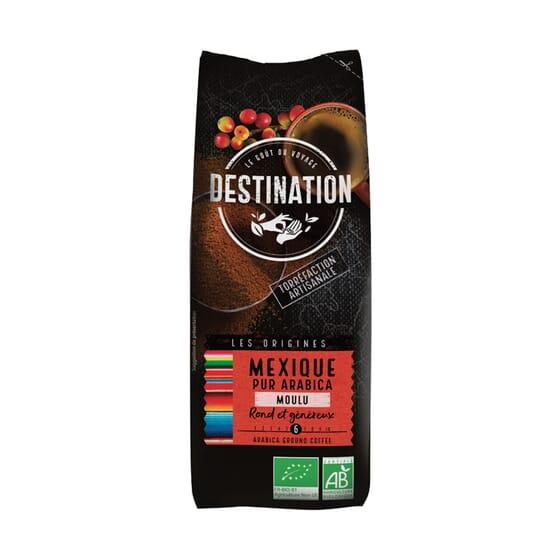 Café Puro Arábica Moído México Bio 250g da Destination