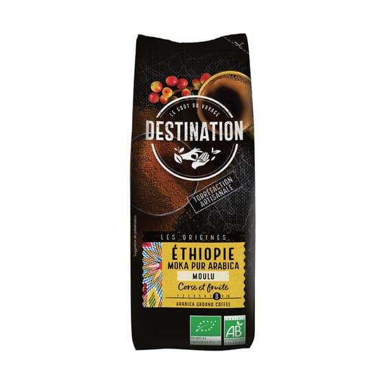 Café Puro Arábica Moído Etiópia Bio 250g da Destination