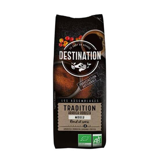 Café Arábica Y Robusta Molido Tradición Bio 250g de Destination