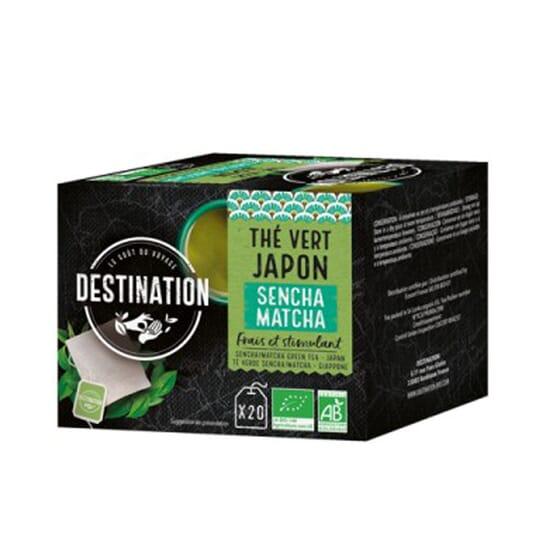 Chá Verde Japão Grand Sencha BIO 20 Infusões da Destination
