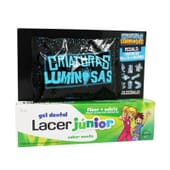 LACER JUNIOR GEL DENTAL MENTA 75ml + ZOMLING GRATIS