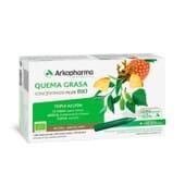 Quemagrasa Plus Triple Acción Bio 20 Ampollas 15 ml de Arkopharma