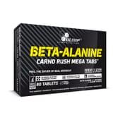 BETA-ALANINE CARNO RUSH Mega Tabs - 80 Tabs - OLIMP
