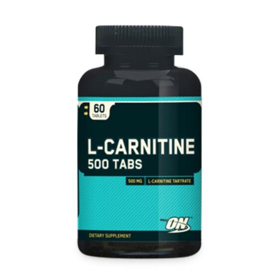 L-Carnitina 500Mg - 60 Tabs da Optimum Nutrition
