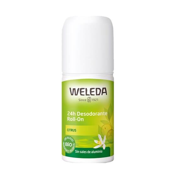 DEODORANTE ROLL-ON 24H CITRUS 50 ml di Weleda