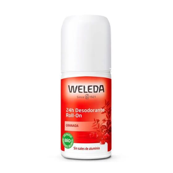 Desodorizante Roll-On 24h Romã 50 ml da Weleda