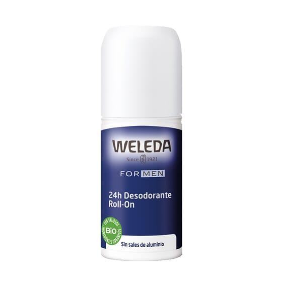 DESODORANTE ROLL-ON 24H MEN 50 ml de Weleda