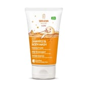 2 in 1 Shampoo e Gel Kids Arancia Fruttato 150 ml di Weleda