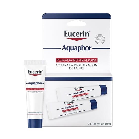 Aquaphor Pomada Reparadora 2 x 10 ml de Eucerin