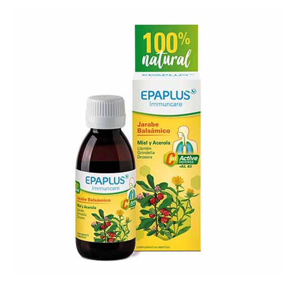 Epaplus Immuncare Sciroppo Balsamico Miele e Acerola 150 ml di Epaplus