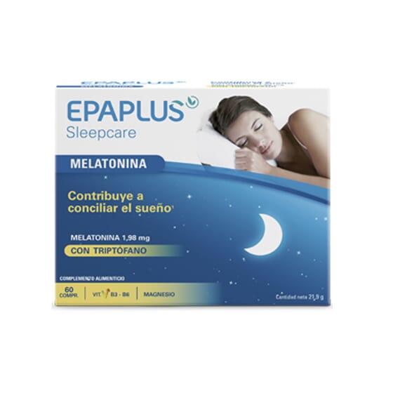 EPAPLUS SLEEPCARE FORTE MELATONINA + TRIPTOFANO 60 Capsule di Epaplus