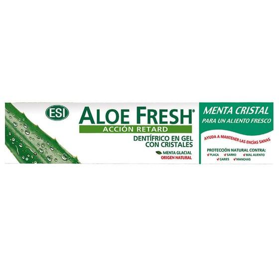 Aloe Fresh Acão Retard Dentífrico Em Gel Com Cristais 100 ml da TrepatDiet