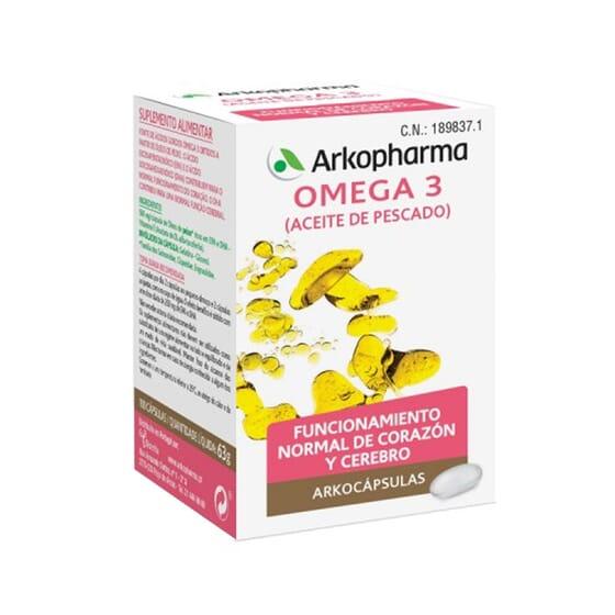 Omega 3 Aceite De Pescado 100 Caps de Arkopharma