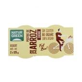 Dessert au Riz Cacao Sans Gluten Bio 125g 2 Unités de NaturGreen