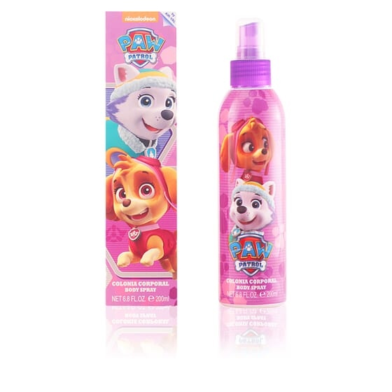 Patrulla Canina Rosa Colonia Body Spray 200 ml da Cartoon
