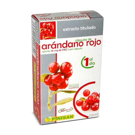Arandano Rojo 30 Caps da Pinisan