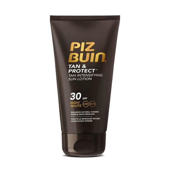 PIZ BUIN TAN & PROTECT LOTION INTENSIFICATEUR DE BRONZAGE SPF 30 150 ml - PIZ BUIN