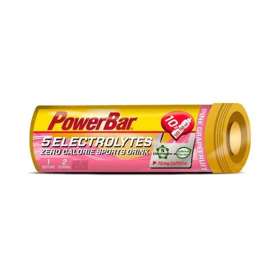 5 ELECTROLYTES (AVEC CAFÉINE) 10 Comprimés - POWERBAR