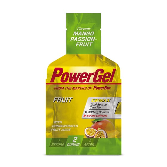 POWERGEL FRUIT + Caféine - POWERBAR