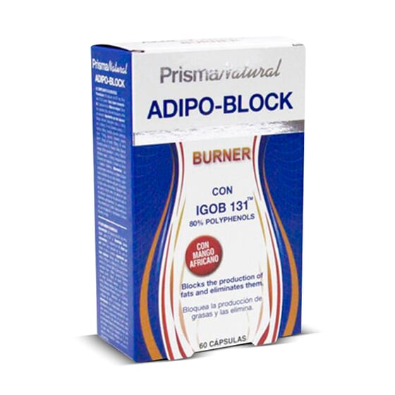 Adipo-Block Burner 60 Caps de Prisma Natural