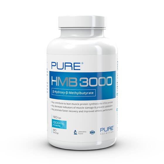Hmb 3000 - 180 Caps da Pure Nutrition