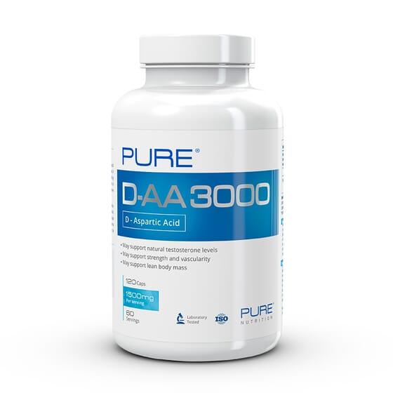 D-AA 3000 - 120 Gélules - PURE NUTRITION